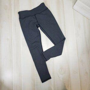 Kyodan Women's Herringbone Leggings Gray Med